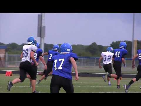 '17 Forsyth Middle School Football vs Clever