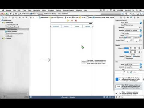 ios 스위프트(swift) 강좌 - 미니웹브라우저 만들기 2
