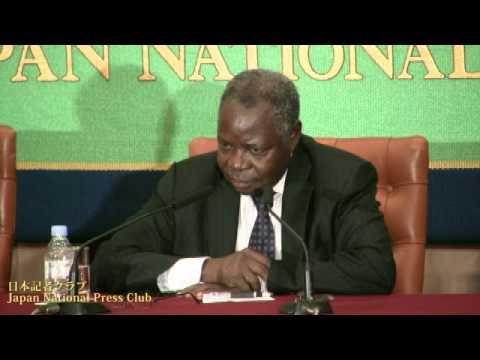 コスティ・マニベ・ンガイ 南スーダン財務・経済計画相 2012.9.5