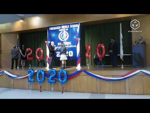 Firebaugh Middle School 8th Grade Promotion 2020 Day 3