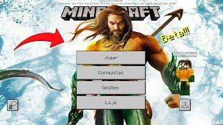 COMO SE TORNAR O AQUAMAN NO MINECRAFT PE ! (Minecraft Pocket Edition)
