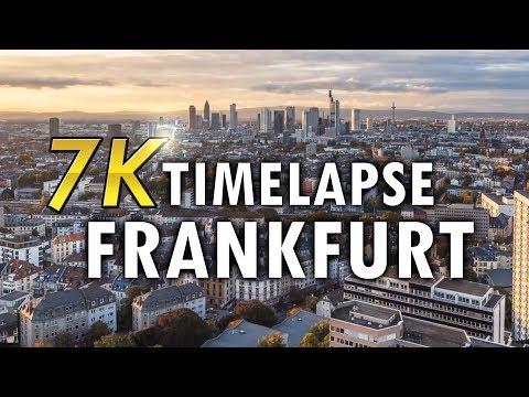 Skyline Video Frankfurt | Henninger Turm | Timelapse 7K | Filmproduktion Frankfurt | Videoproduktion