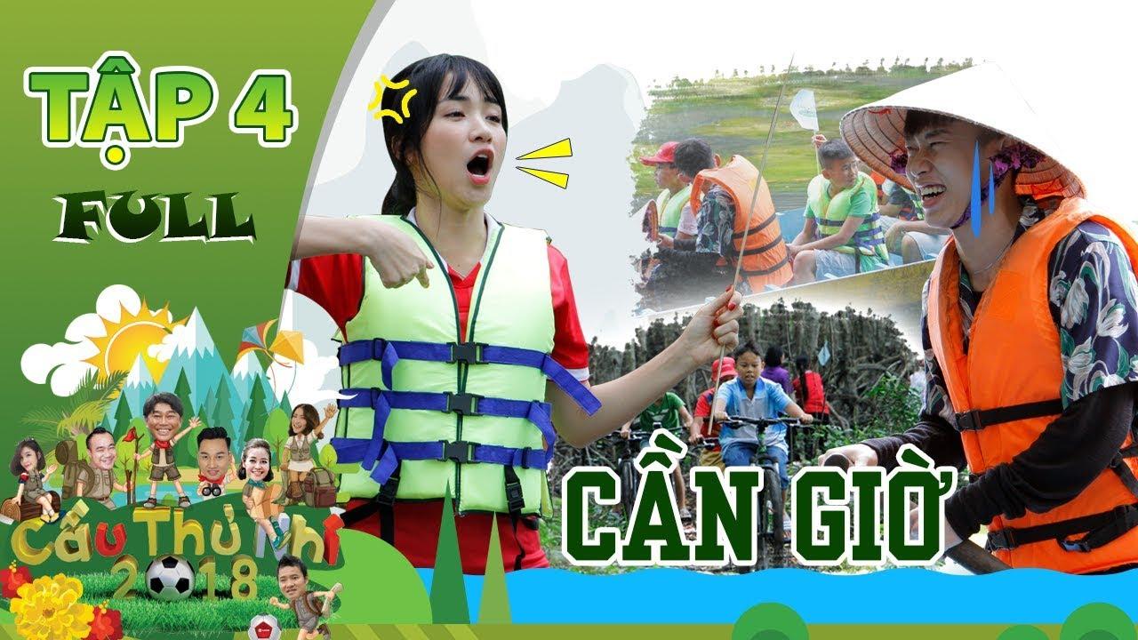 Cầu Thủ Nhí 2018   Tập 4   Kay Trần ga-lăng nhường Hòa Minzy lựa chọn thử thách