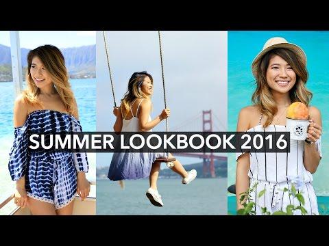 Summer Lookbook 2016! Beach Outfit Ideas!