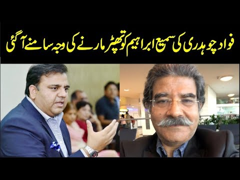 Why Did Fawad Chaudhry Slap Sami Ibrahim? Find Out the Real Reason