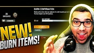 NEW! BURN DUPLICATE ITEMS For MORE CRYPTOKEYS! BO3 Sell Supply Drop ITEMS FOR Credit - BO3 ITEMS!