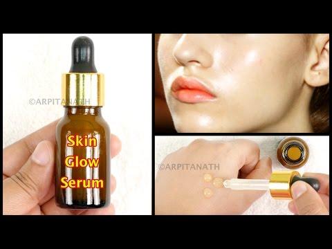 Skin Tightening SUMMER GLOW Serum || DIY Makeup Primer thumbnail