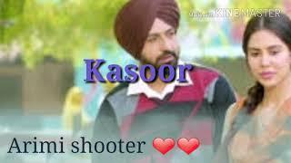 Khan Saab : KASOOR | Manje Bistre: Gippy Grewal, Sonam Bajwa | New Punjabi Sad Song 2017,
