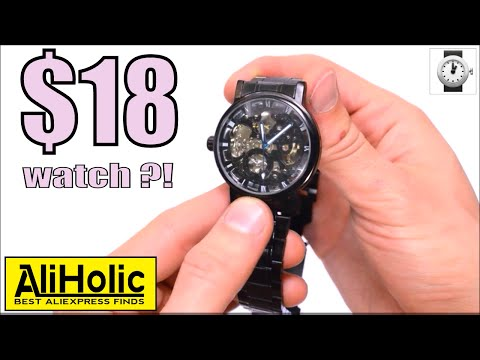Mechanical watches for $18?! Are they really worth it? #AliExpress