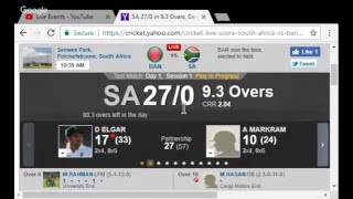 Bangladesh vs South Africa 1st Test Match Live Stream