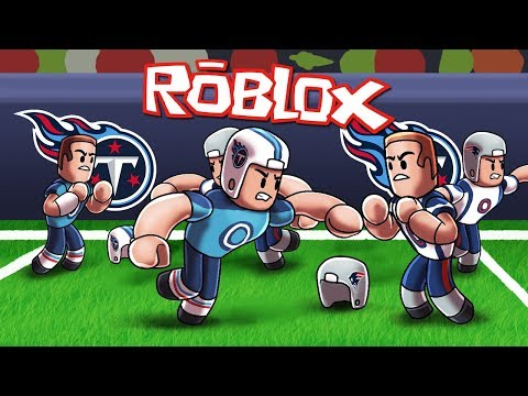 Roblox | NFL PLAYOFFS: Patriots vs Titans! (Roblox Football Game)
