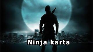 Ninja karta - dárek k vánocům
