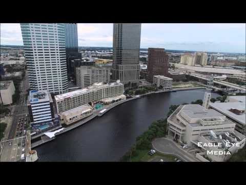 Tampa River Walk in 4K