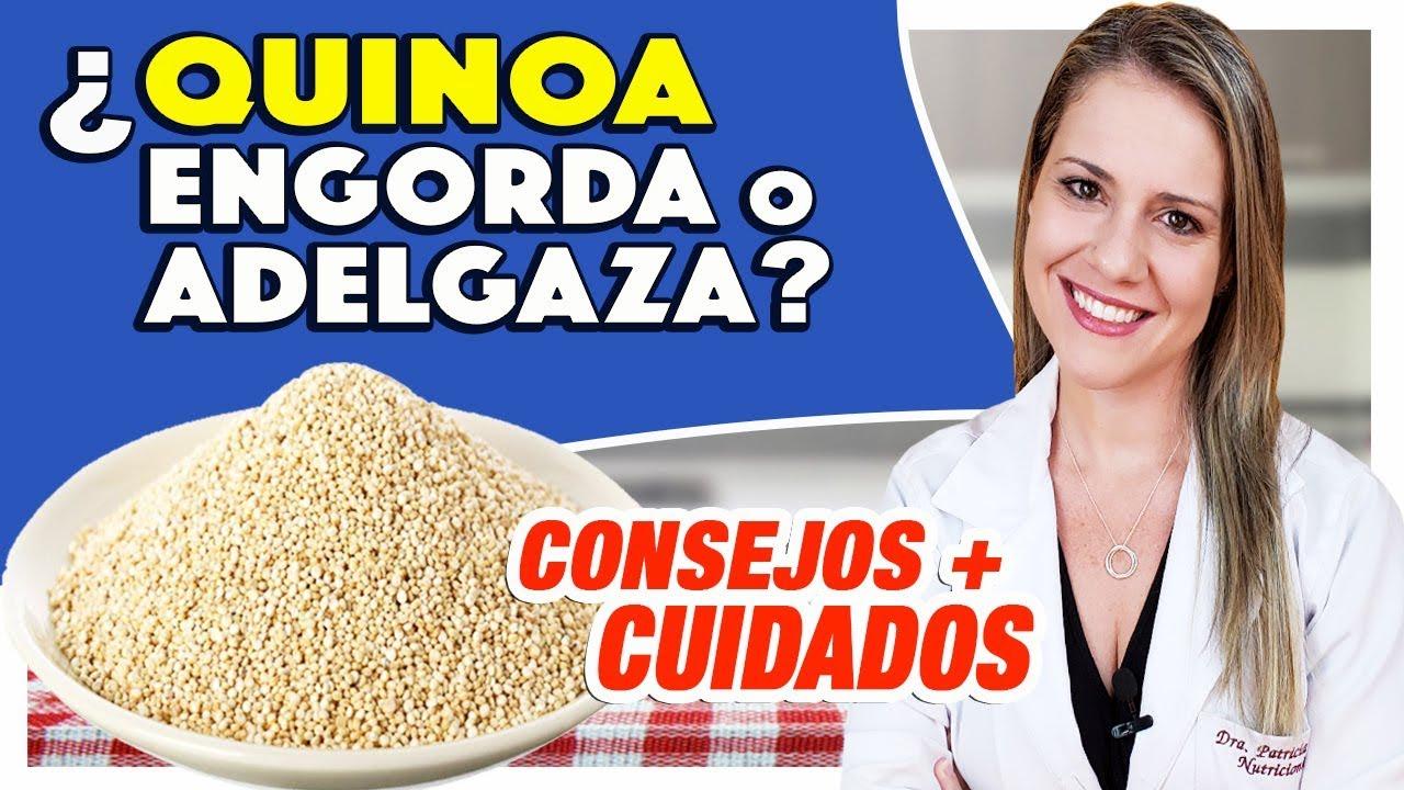 la quinoa engorda o no