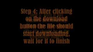 How To Download Slender Man 7th Street