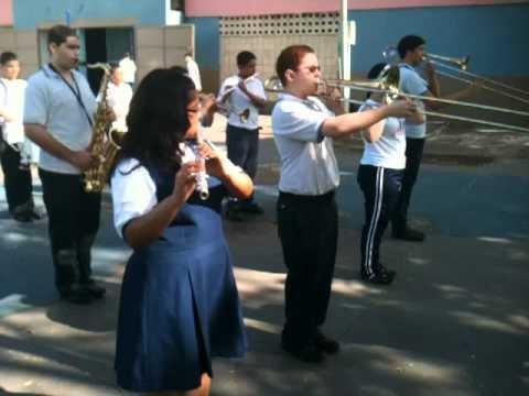 Banda de Marcha de Canteras - Practica Field Day Escuela Sofia Rexach 2