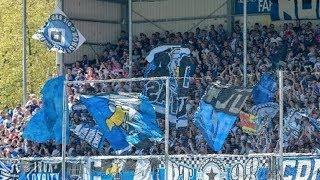Sandhausen vs Hamburg | Ultras Nordtribune Amazing Atmosphere - Ultras Way✔