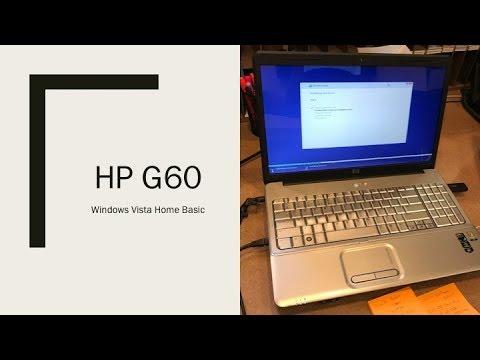 hp g60 laptop running windows vista - youtube hp g60 laptop diagram #13