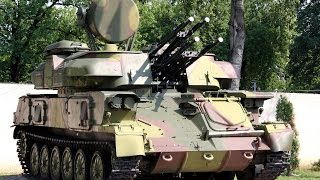 Russian ZSU-23-4 Shilka Self-Propelled Anti-Aircraft Gun
