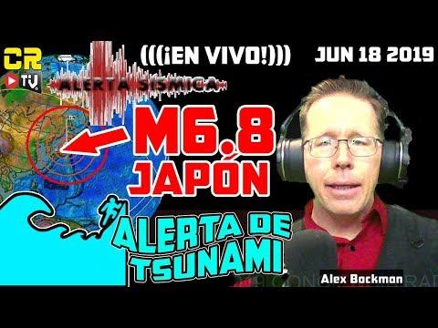 🔴 ¡EN VIVO! DOS TERREMOTOS M6.8 SACUDEN 🗾 JAPÓN Y RUSIA 🌏, GENERA ALERTA DE TSUNAMI  🌊