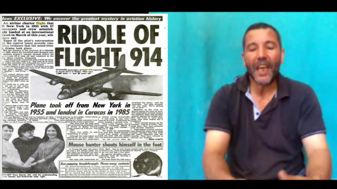 Un Avion A Disparu 1955 Et Atterri 37 Ans Plus Tard اختفاء طائرة عام 1955 وهبوطها 37 سنة بعد ذلك Youtube