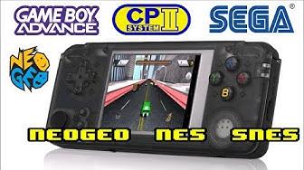 Q9 Retro Gaming Handheld with 3000 Games! Arcade, GameBoy, SNES, SEGA and more