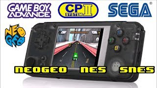 Q9 Retro Gaming Handheld with 3000 Games! Arcade, GameBoy, SNES, SEGA and more