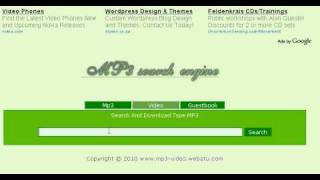 www.mp3-video.webatu.com | The best search engine for Mp3 And video