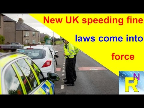 Car Review - New UK Speeding Fine Laws Come Into Force - Read Newspaper Tv