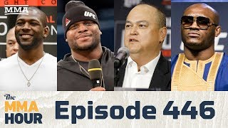 The MMA Hour: Episode 446 (w/ Lewis, Coker, Usman, Ruth)