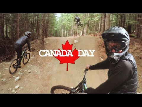 Whistler Bike Park | Canada Day Rip with Mark Schroeder | FollowCam 4K GoPro POV