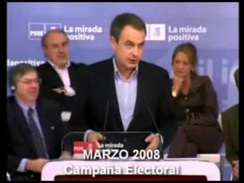 Jose Luis Rodriguez Zapatero MINTIENDO PARA VARIAR
