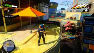 Sunset Overdrive - Bryllcream: Wall Run Tutorial, Hack Satelite & Use Radio on Troop Bushido XboxOne
