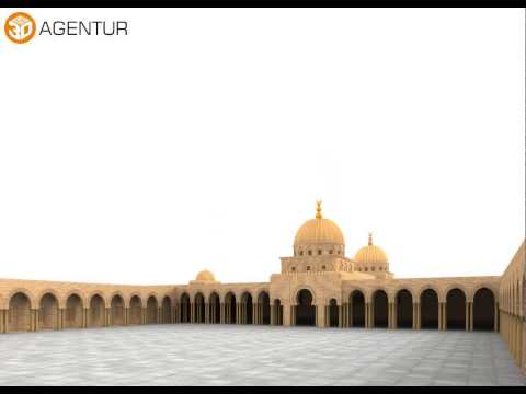 Great Mosque of Kairouan 3D model from CGTrader.com