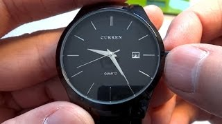Наручные часы Curren из Китая(Продавец: https://goo.gl/p7qUVJ ➤ Скидки до 20% при заказах в Интернет магазинах: https://goo.gl/l7JOZI На GearBest: https://goo.gl/ucDdlL Нару..., 2014-04-18T10:50:56.000Z)