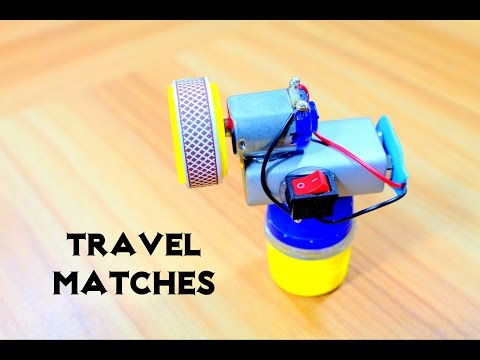 Thumbnail: How to Make easy Travel Matches - Match Life Hacks