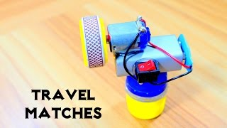 How to Make easy Travel Matches - Match Life Hacks
