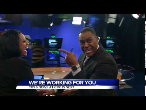 Rob Desir just found out he's anchoring with Cheryl Miller