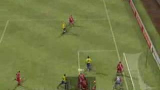 Pro Evolution Soccer 2008 PC Gameplay (2nd Half)