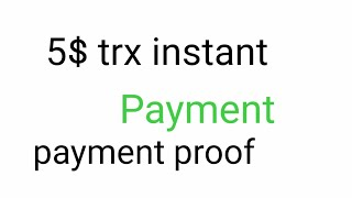 instantly payment 100 token... and exchange trx instant payment