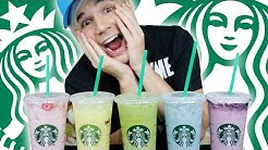 HOW TO ORDER STARBUCKS SECRET DRINK MENU! RAINBOW!!!