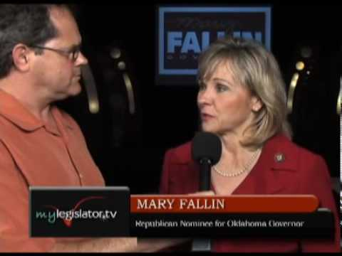 Mary Fallin, Candid Interview
