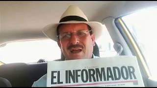 Daniel Gil felicita a EL INFORMADOR en nombre del gremio de taxistas