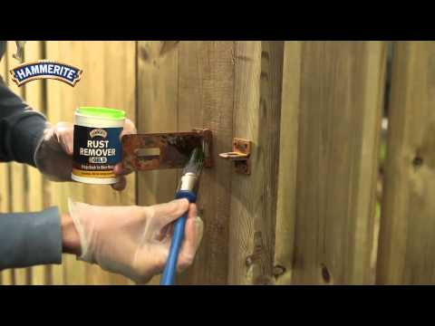 DIY: How to Remove Rust