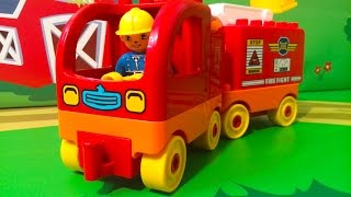 Мультики Пожарная машина и скорая помощь в мультике Лесной пожар. Мультфильмы про машинки для детей