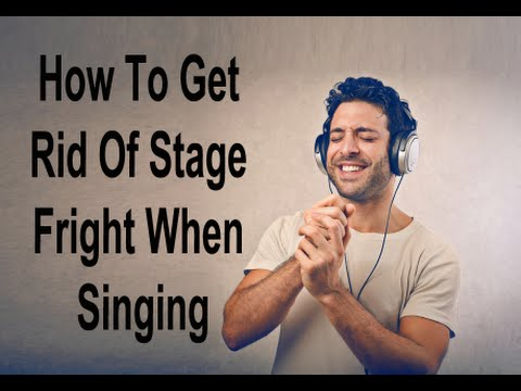 how to stop stage fright public speaking