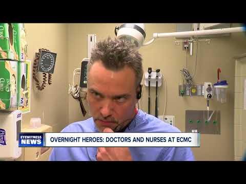 Overnight heroes: ECMC's emergency department staff
