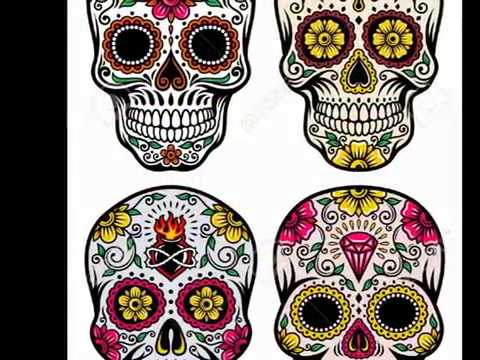Mexican Sugar Skull Tattoo Design and Meaning