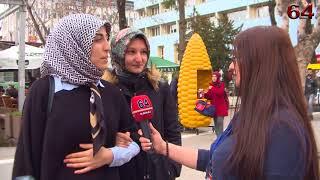 12 Mart İstiklal Marşı Özel Sokak Röportajı - Uşak