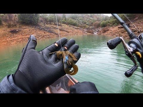 JIG Bite Was HOT At Lake Shasta